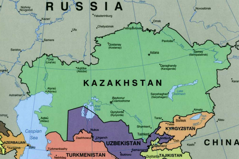 Almaty Kazakhstan map - Map of almaty Kazakhstan (Central ...