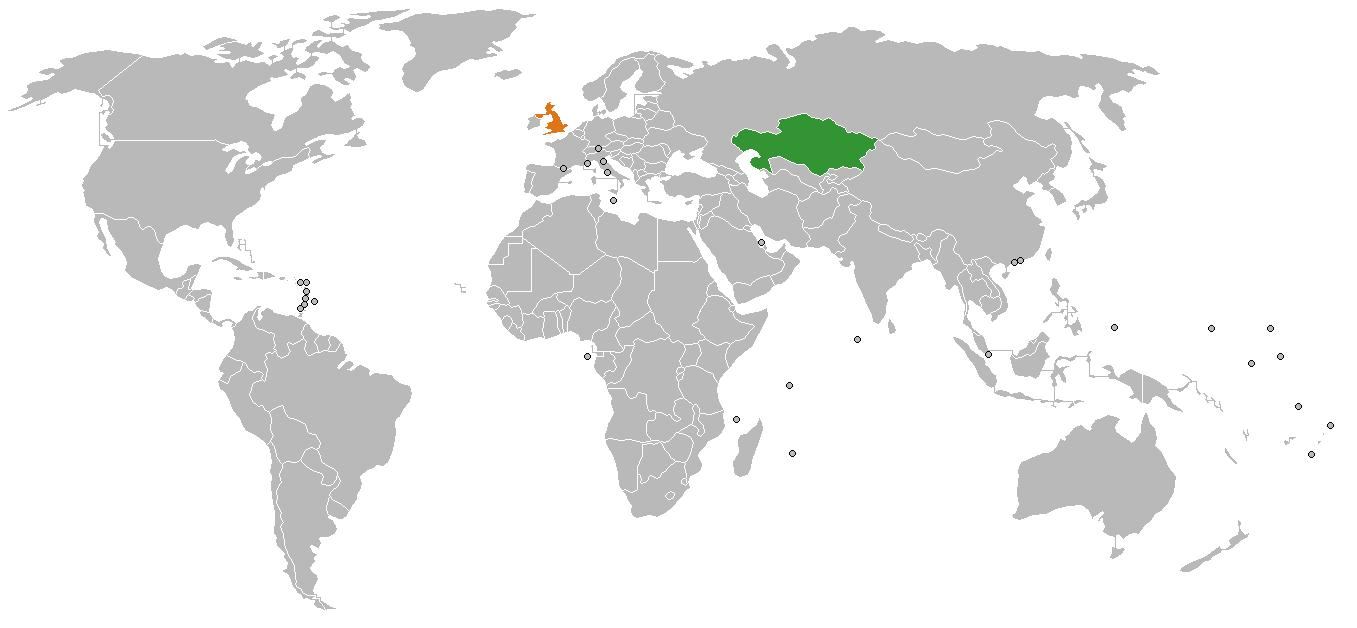 Kazakhstan on world map kazakhstan location on world map central kazakhstan location on world map gumiabroncs Images