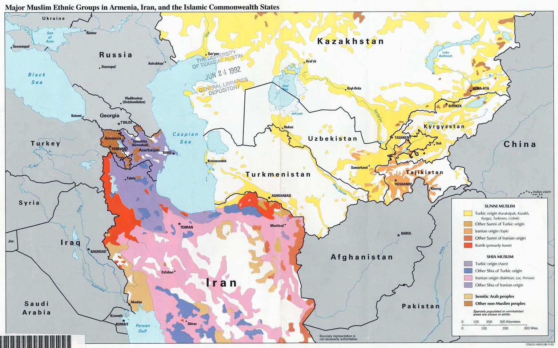 Religion Map Of Asia.Kazakhstan Religion Map Map Of Kazakhstan Religion Central Asia