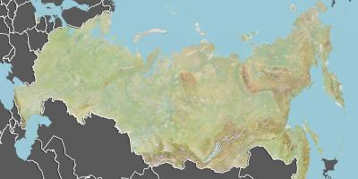 Map of Kazakhstan geography